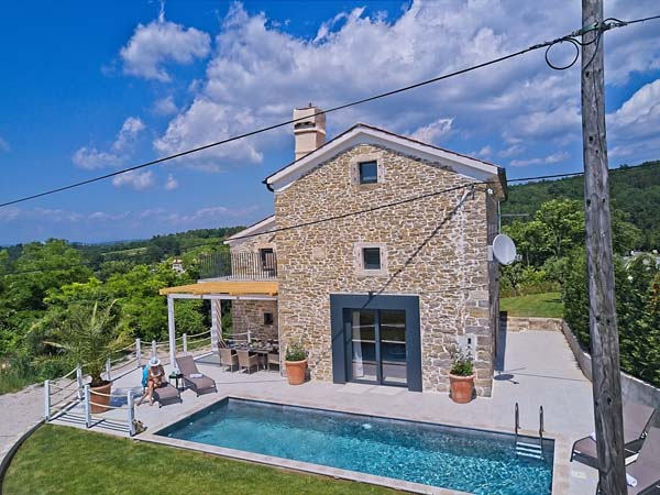 Villa Carica, Ferienvilla in Istrien / Kroatien