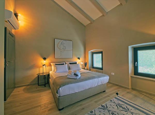 Villa Carica, Schlafbereich