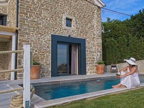 Villa Carica, charmante Luxus-Ferienvilla in Istrien / Kroatien
